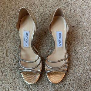 Snakeskin Jimmy Choo sandals